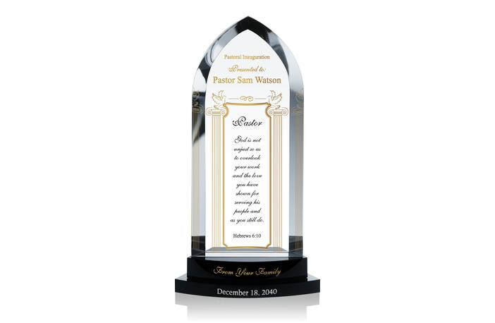 Pastoral Inauguration Recognition Gift