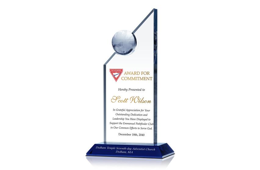Church Club Commitment Award