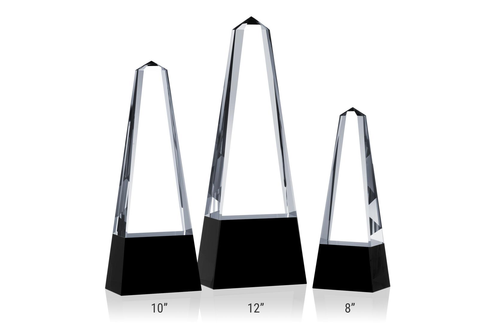 Wide Obelisk Towers