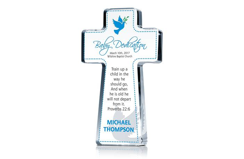 Cross Dedication Gift