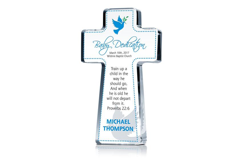 Cross Dedication Gift For Boys