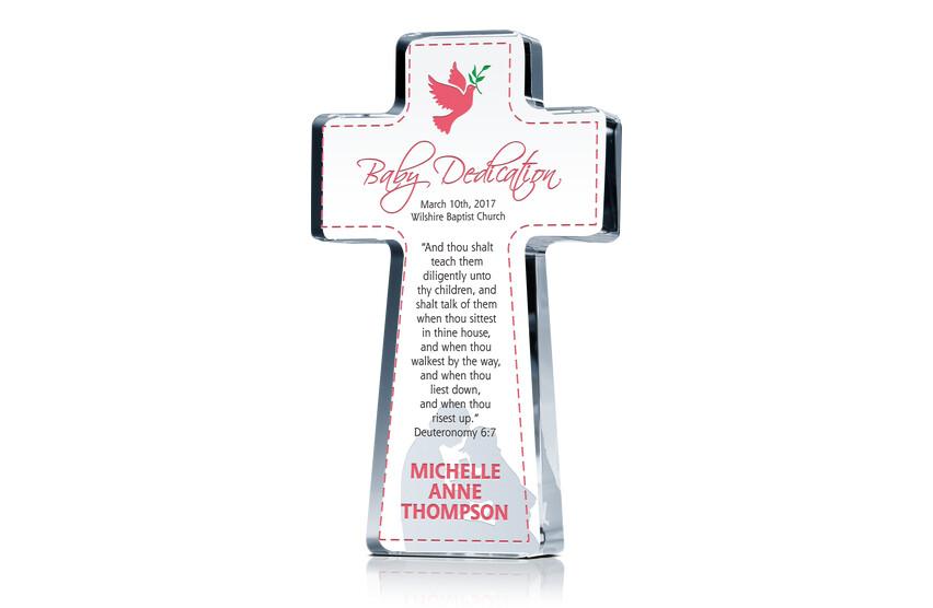 Cross Dedication Gift For Girls