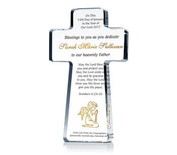 Cross Dedication Certificate