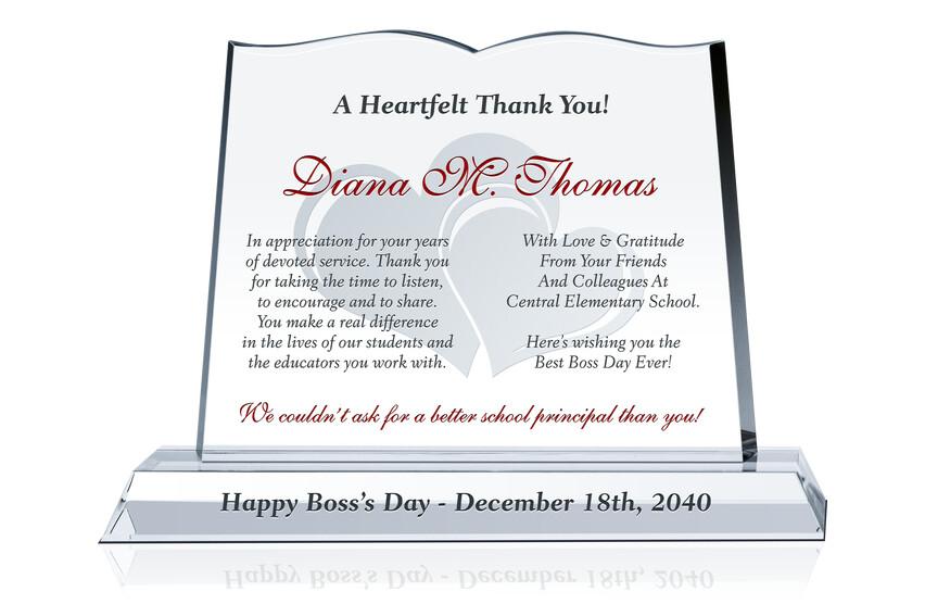 Educator Boss Day Gift for Her