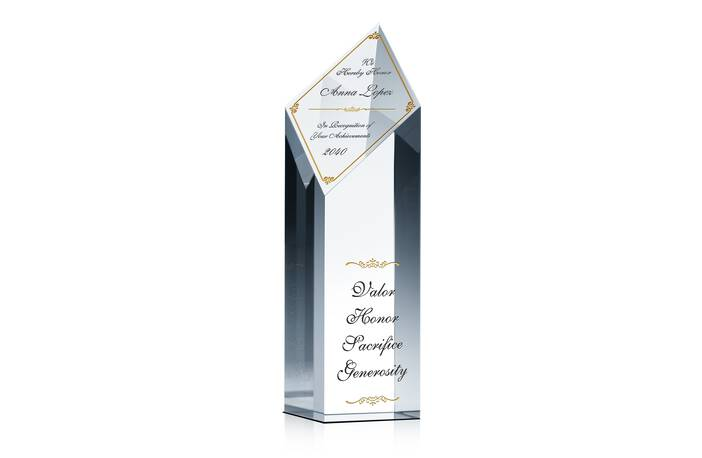 Achievement Recognition Tower Award