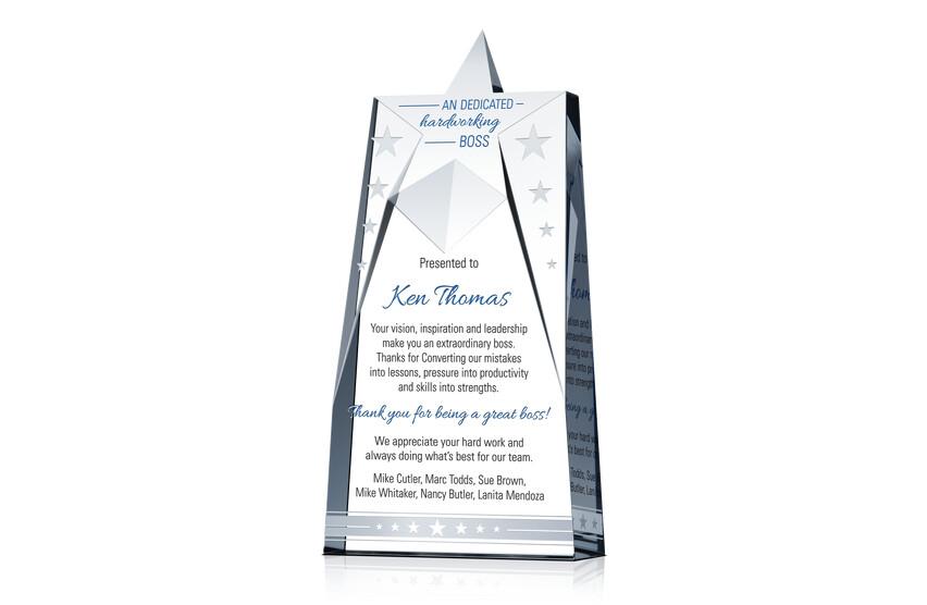 Great Boss Star Award