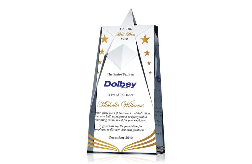 Excellent Boss Award Ideas