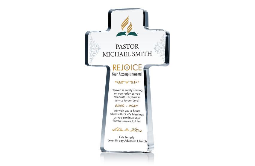 Cross Appreciation Gift for Pastor