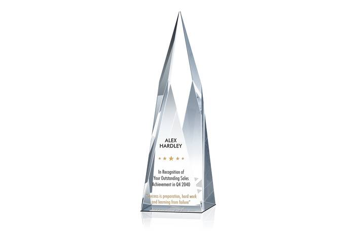 ummit Sales Achievement Award Plaque