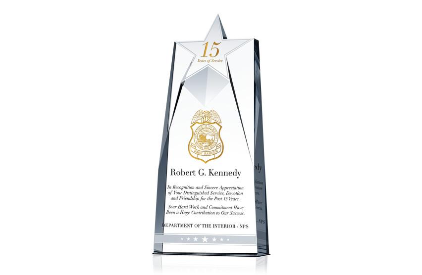 Ranger Years of Service Award