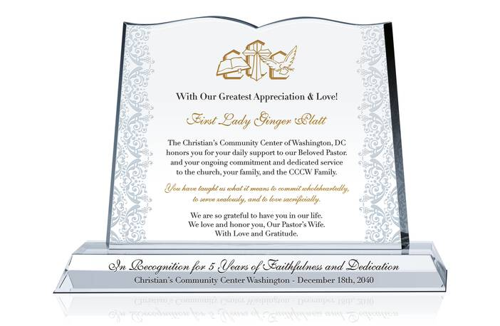 Pastor Wife Anniversary Wording Ideas