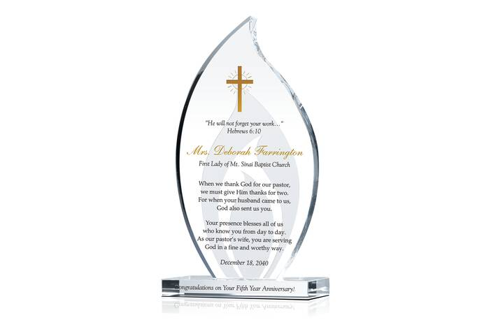 Sample First Lady Appreciation Message & Scripture