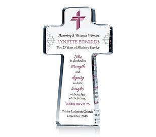 Pastor's Wife Anniversary Cross