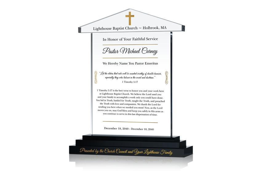 Sample Pastor Emeritus Farewell Tribute
