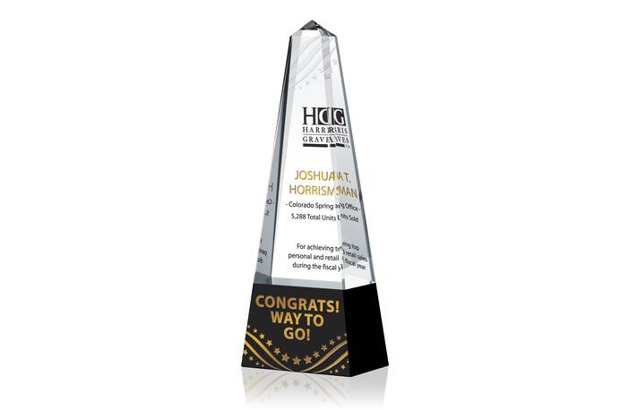 Sales Excellence Award Tower