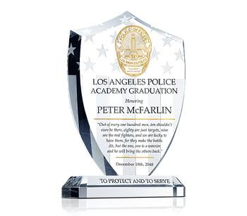 Shield Police Graduation Gift