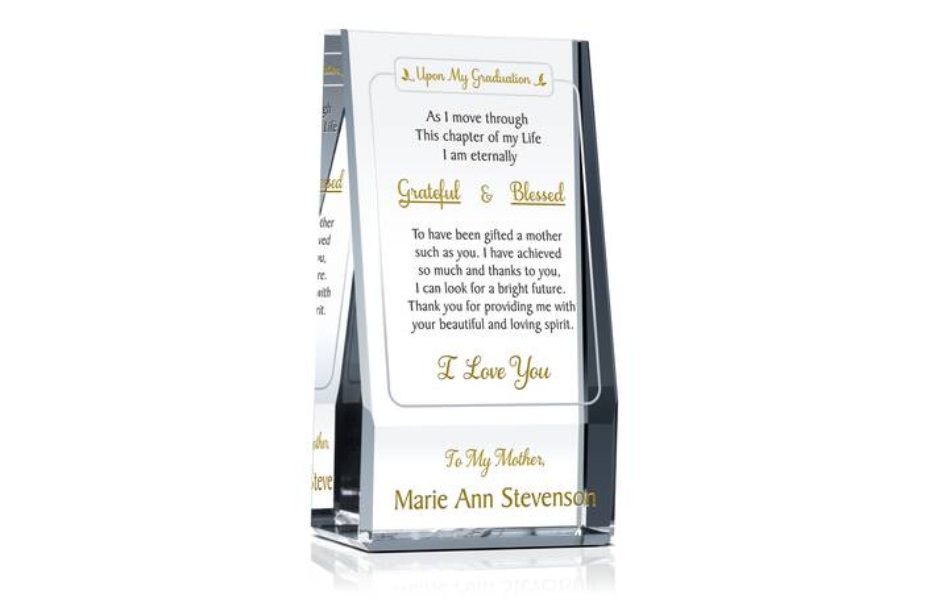 Graduation Appreciation Gift for Mother