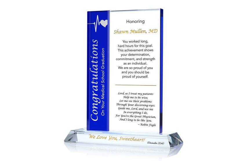 Medical School Graduation Gift for Husband/Wife