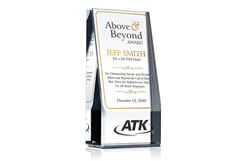 Above & Beyond Employee Award