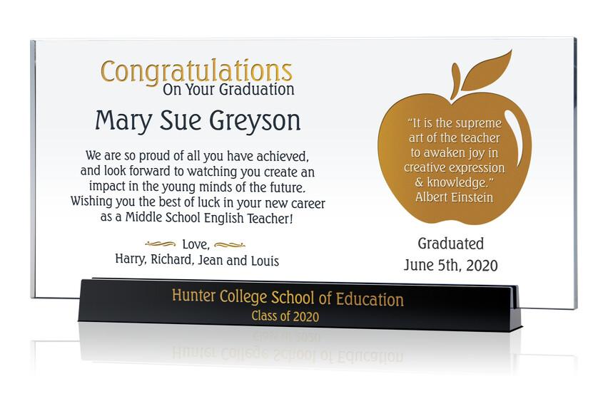 New Teacher Graduation Gift