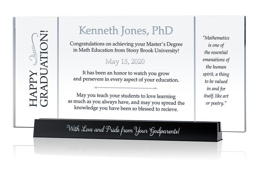 Math Teacher Graduation Gift
