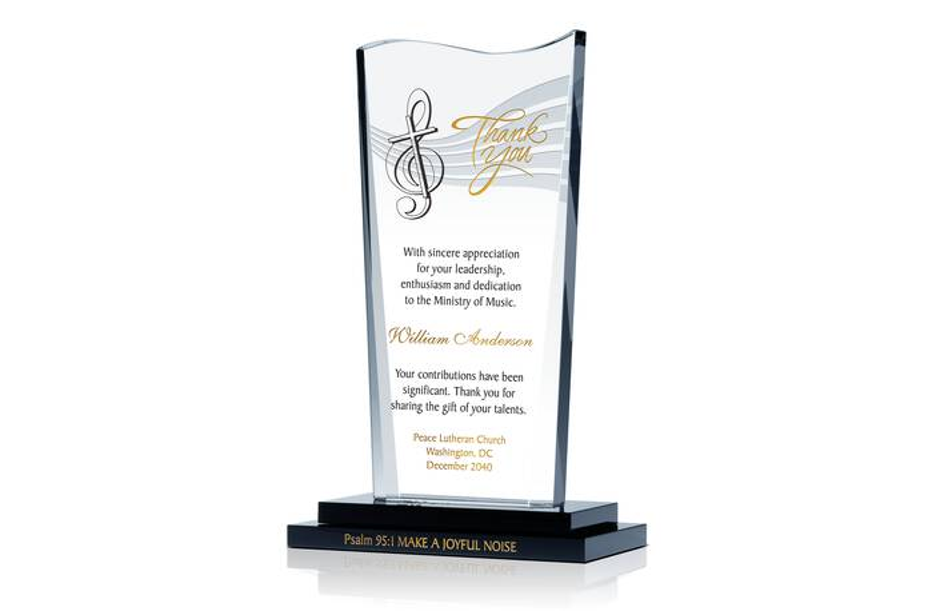 Church Musician Retirement Gift