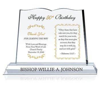 Religious Pastor Birthday Gift