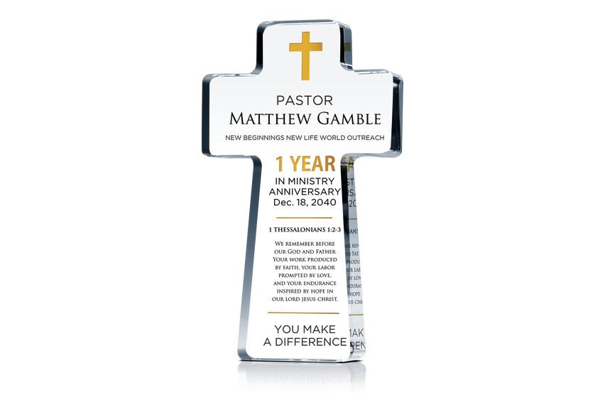 Sample Words of Encouragement for Pastor Anniversary