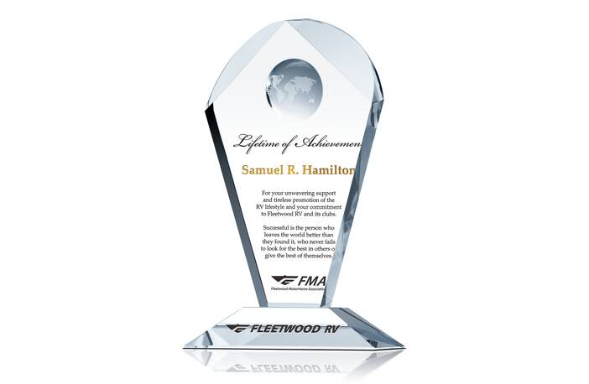 Lifetime of Achievement Award Quote