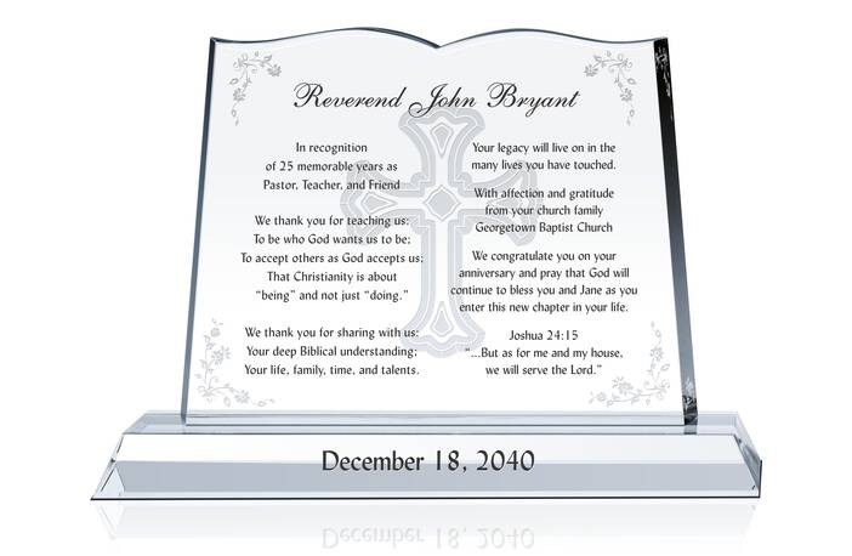 Sample Pastor Anniversary Words of Appreciation