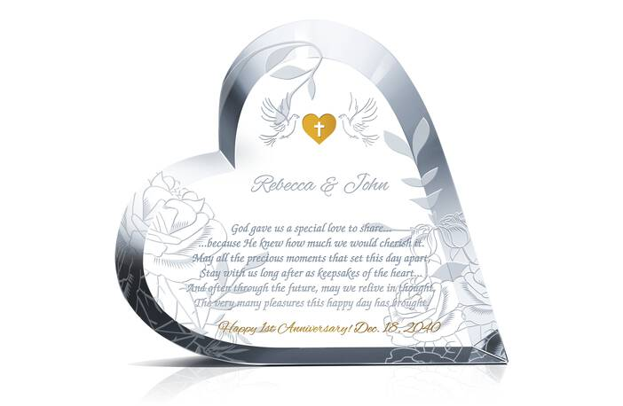 Sample Christian 1st Anniversary Wishes