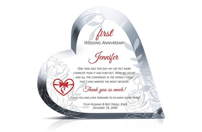 First Anniversary Gift Ideas for Wife