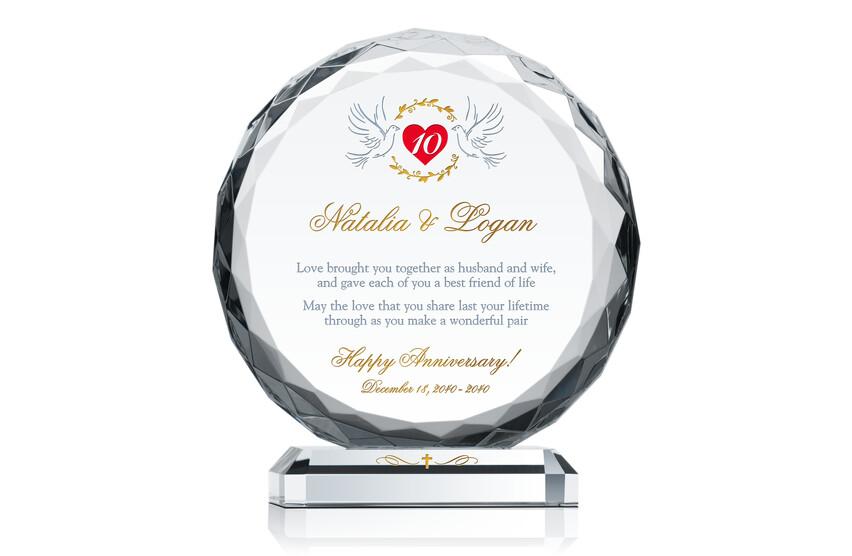 Christian 10th Wedding Anniversary Gift
