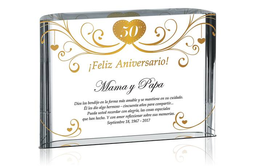 Feliz 50º Aniversario para Mama y Papa