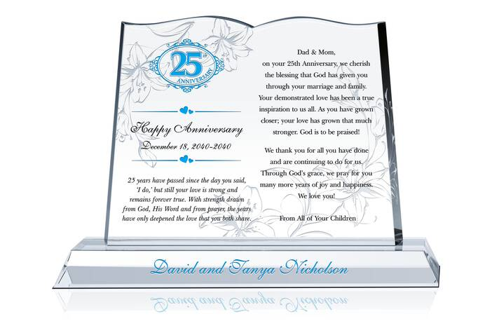 25th Anniversary Wishes and Quotes for Mom & Dad