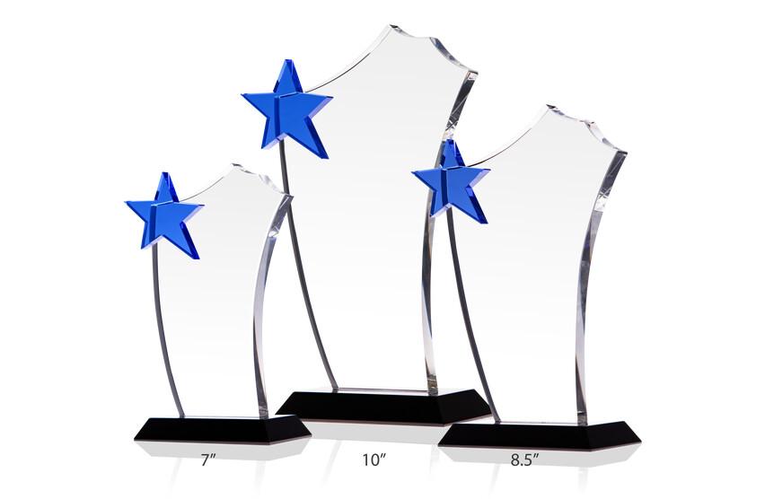 Blue Star Sail Award Plaques