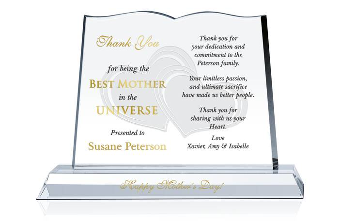 Happy Mother's Day Gift Plaque
