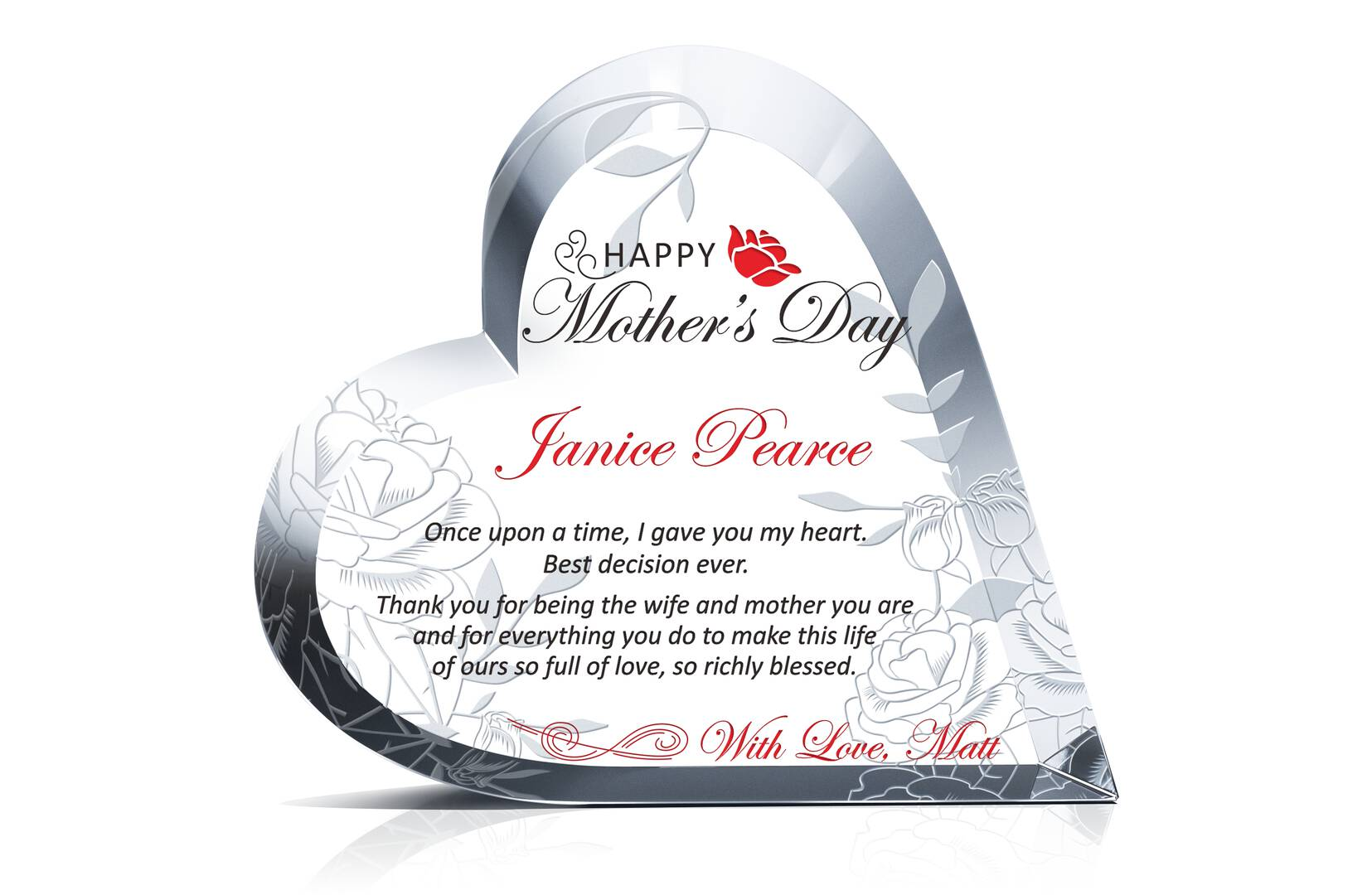 Personalized Mother's Day Gift for Wife