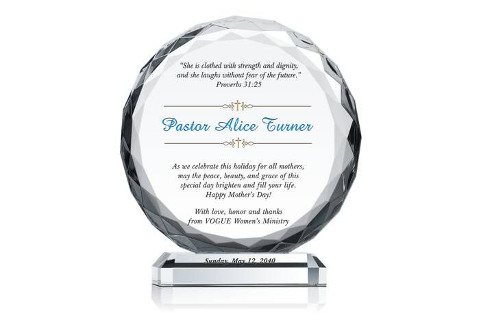 Religious Mother's Gift Plaque