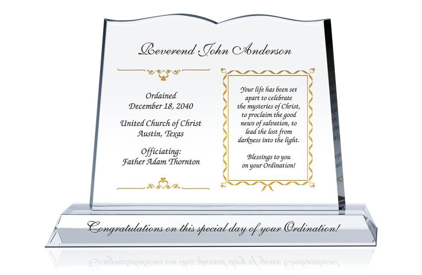 Congratulations Gift For Ordination