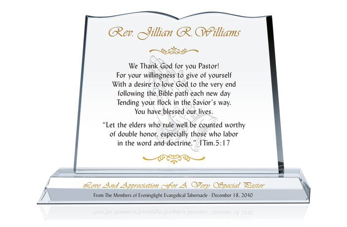 Appreciation Gift for a Very Special Pastor