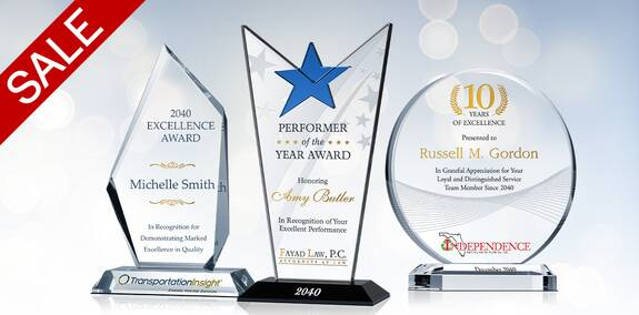 Discounted Awards & Plaques